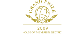 HOUSE OF THE YEAR IN ELECTRIC 2009 GRAND PRIZE ロゴ